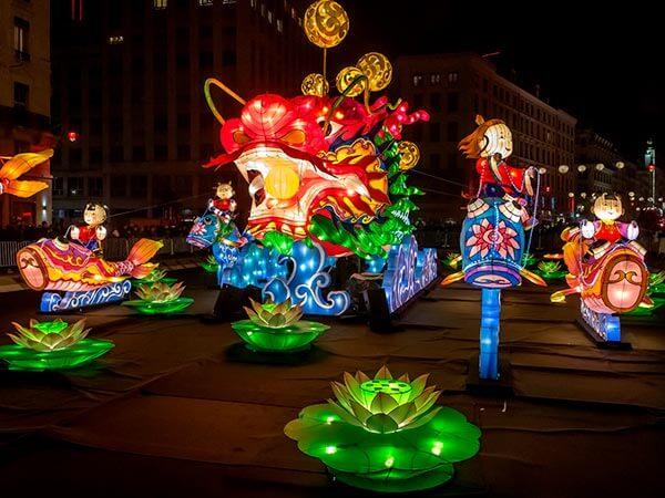 Kanpai Tourisme - Lyon Light Festival