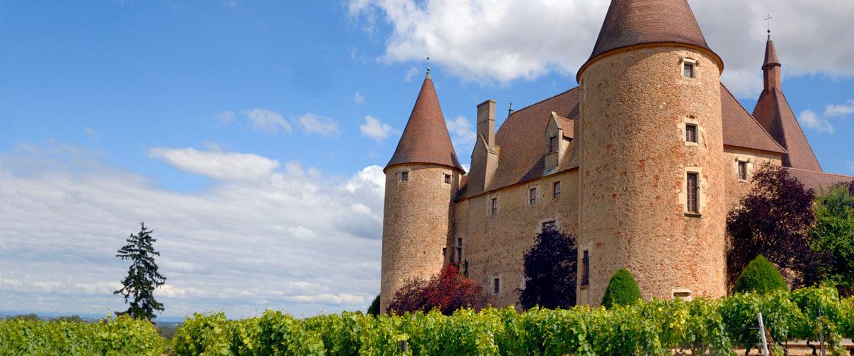 Beaujolais Crus et châteaux
