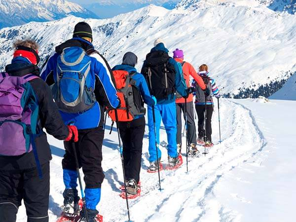Kanpai Tourisme - Snowshoe