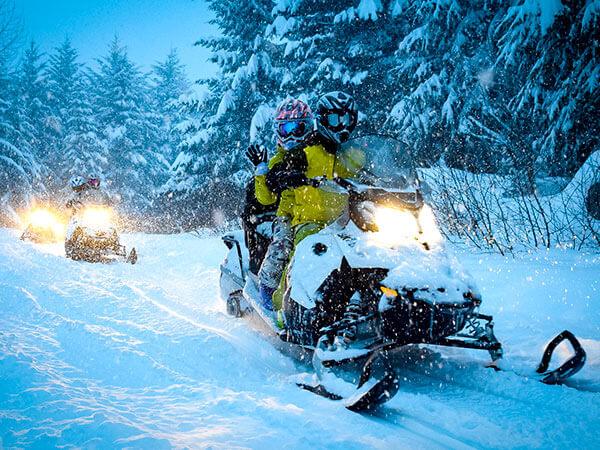 Kanpai Tourisme - Snowmobile