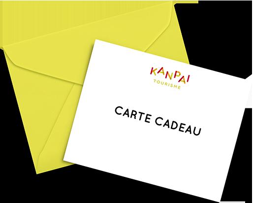 carte cadeau kanpai tourisme